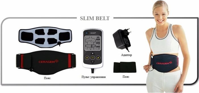 Миостимулятор Ceragem Slim Belt CGM ESA-AD1101